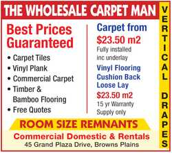 THE WHOLESALE CARPET MAN