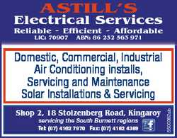 Astill's Electrical services Reliable Efficient Affordable liC: 70907 ABN: 86 232 563 971 sho...