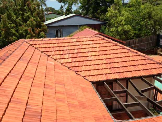 Concrete/Terracotta Ridge Cap Repairs Extensions Roof Cleaning Solar Panel Cleaning. Member of QM...