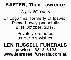 RAFTER, Theo Lawrence