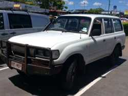 80 Series Diesel Landcruiser, station wagon 1995, man, 2 fuel tanks, 2 batts, b/bar, t/bar, good...