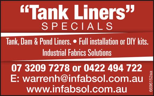 Tank, Dam & Pond Liners  Full installation or DIY kits.   Industrial Fabrics Sol...
