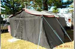 REDBACK 7x5 camper trailer,    rego 11/18,  queen mattress/bed,  waterproof floo...