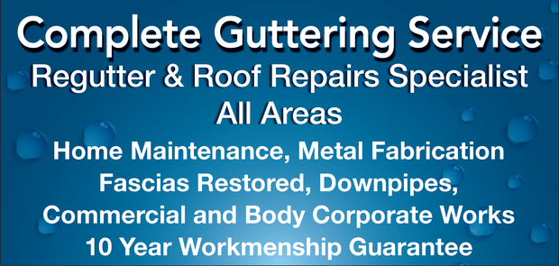 Regutter & Roof Repairs Specialist