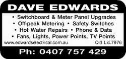 Switchboard & Meter Panel Upgrades  Off-peak Metering  Safety Switches  Ho...