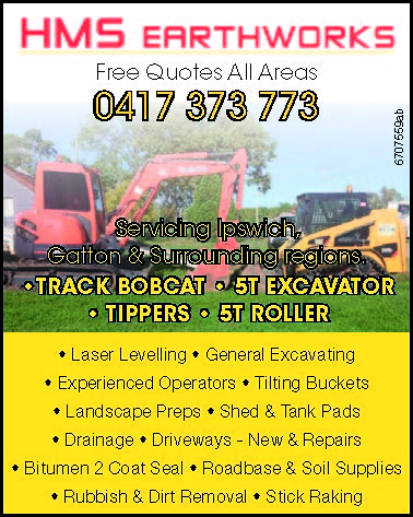 Servicing Ipswich, Gatton & Surrounding regions.