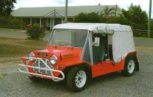 1980 MINI MOKE CALIFORNIAN CA