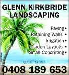 Glenn Kirkbride Landscaping