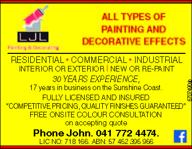 ALL TYPES OF PAINTING & DECORATIVE EFFECTS
