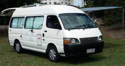 1998 Toyota Commuter ELWB Hi-roof 2.4L EFI Petrol 5 SP man. RWC Gas Cert 6mth Reg New Fitout Immacul...