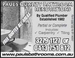 By Qualified Plumber
