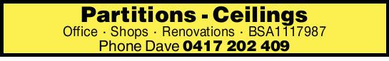 Office - Shops - Renovations    BSA1117987      P...