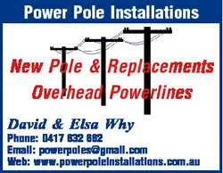 Power Pole Installations