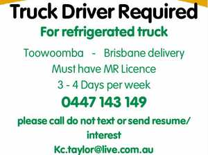 Truck Driver Required