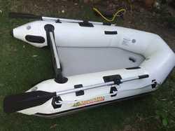 ISLAND Inflatable IA 200 Airdeck Dingy    2m h/duty,  max. motor cap.  28kilo pa...