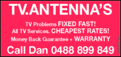 TV.ANTENNA'S
