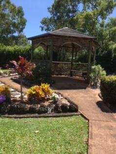 Allambee Memorial Park Cremation Plot    Gazebo 2, site 291 Next to Balinese monument.   ...