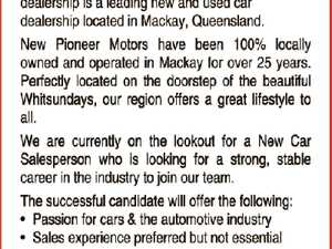 New Car Sales Position