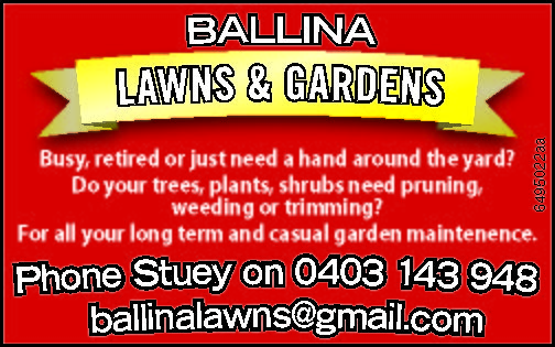 Ballina Lawns & Gardens