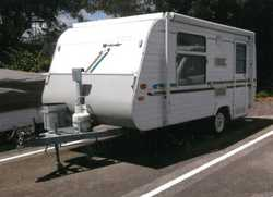 ROYAL FLAIR POPTOP 14', 3 way frig, gas stove, island bed, rollout awning, VGC, new tyres,...