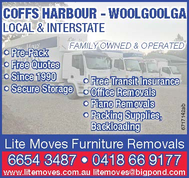 COFFS HARBOUR - WOOLGOOLGA