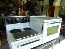 four element, griller and large oven