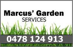 Marcus's Garden Services:  Need help around the garden. Letm...
