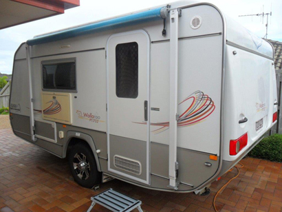 Jurgens 15' Pop Top Plated 8/14, brought new 1/15, rego, sleeps 2, sngle or dble, R/C A/C,...