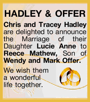 HADLEY & OFFER
