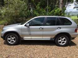 BMW X5 2004 silver, auto diesel 166,000 kms, RWC, just had BMW serv log books, elec adjust leathe...