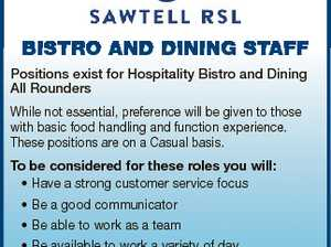 BISTRO AND DINING STAFF Positions exist for Hospitality Bistro and Dining All Rounders While not essential, preference will be given to those with basic food handling and function experience. These positions are on a Casual basis. To be considered for these roles you will: * Have a strong customer service focus ...