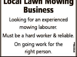 experienced mowing labourer