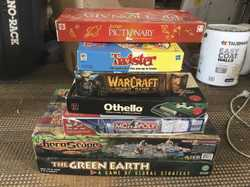 Moving sale - heaps of bargains.  Clothes, boardgames, furniture, kitchenware, books, DVDs etc.