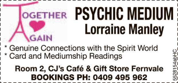 * Genuine Connections with the Spirit World