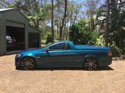 2013 Thunder Commodore Ute, 48720kms, sports hard lid, tub liner, new low profile tyres, chorophy...