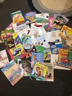100s of near new books. Australian awarded. No tears or marks