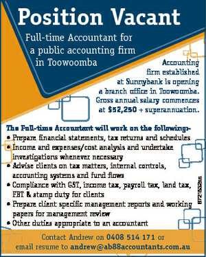 Full-time Accountant