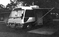TOYOTA Coaster motor home, 4cyl, 5 spd, diesel, gas stove/oven, sol/pwr, shower & toilet, new...