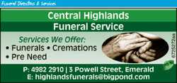 Services we offer:    Funerals  Cremations  Pre Need   We take your hand and...