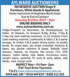 AYLWARD AUCTIONEERS NO RESERVE AUCTION