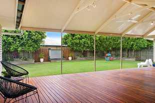 TEWANTIN 923m² block, 4 br + study, 40m² custom deck, 2 living, 2 dining, $695,000. 16...