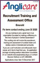 Recruitment Training and Assessment Office