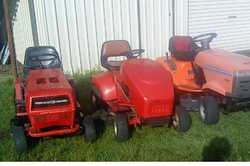 RIDE ONS COMBINED SALE Rover Rancher, Cox, Husqvarna, all GC, $795 ea, can deliver. 0428005111 ...