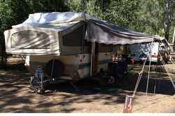 1994 JAYCO Eagle campervan, rego 3/18, sleeps 6, new TV aerial battery and light truck tyres, 3-w...