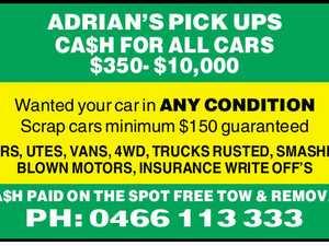 ADRIAN'S PICK UPS CA$H