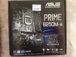Prime B250M-A, never used, still in original box, exc cond.