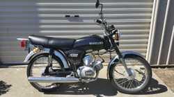 road bike, RESTORED, 2 stroke, 66,000 km on odometer. not registered but can arrange roadworthy. $16...