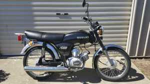 Suzuki A100 Special 1982  Restored