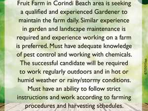 Gardener Required