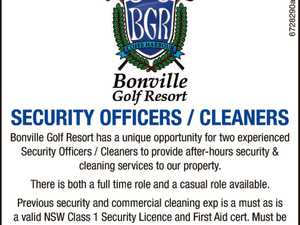 Security Officer / Cleaner
